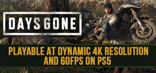 Days Gone, PS4, PlayStation 4, US, Europe, Asia, Japan, update, gameplay, features, screenshots, PlayStation 5, PS5