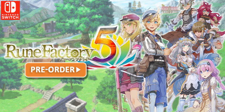 Rune Factory, Rune Factory 5, Nintendo Switch, Switch, Japan, gameplay, features, release date, price, trailer, screenshots, Limited Edition, Standard Edition, news, update