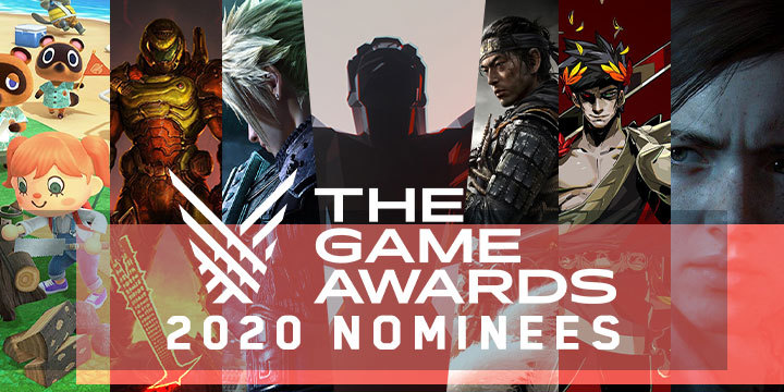 The Game Awards, The Game Awards 2020, nominees
