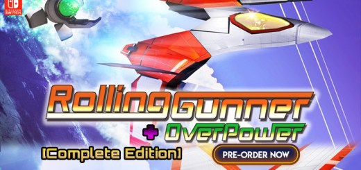 Rolling Gunner + Overpower [Complete Edition], Rolling Gunner + Overpower, Rolling Gunner, Switch, Nintendo Switch, Japan, Mebius, features, release date, price, screenshots, physical version, pre-order