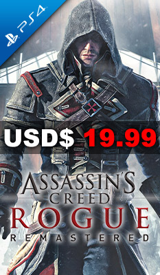 Assassin's Creed Rogue Remastered Ubisoft