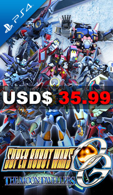 Super Robot Wars OG: The Moon Dwellers (English) Bandai Namco Games