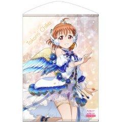 LOVE LIVE! SUNSHINE!! B2 WALL SCROLL: TAKAMI CHIKA ANGEL EDITION VER. (RE-RUN) Cospa