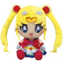 PRETTY GUARDIAN SAILOR MOON ETERNAL CHIBI PLUSH: SUPER SAILOR MOON Tamashii (Bandai Toys)