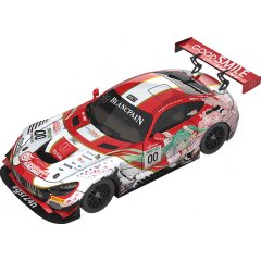 HATSUNE MIKU GT PROJECT 1/18 SCALE MINIATURE CAR: GOOD SMILE HATSUNE MIKU AMG 2017 SPA24H VER. Good Smile Racing