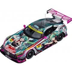 HATSUNE MIKU GT PROJECT 1/64 SCALE MINIATURE CAR: GOOD SMILE HATSUNE MIKU AMG 2020 SUPER GT VER. Good Smile Racing