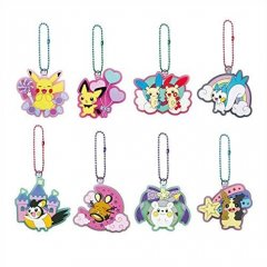 POKEMON LAME RUBBER COLLECTION 2 (SET OF 8 PIECES) SK Japan