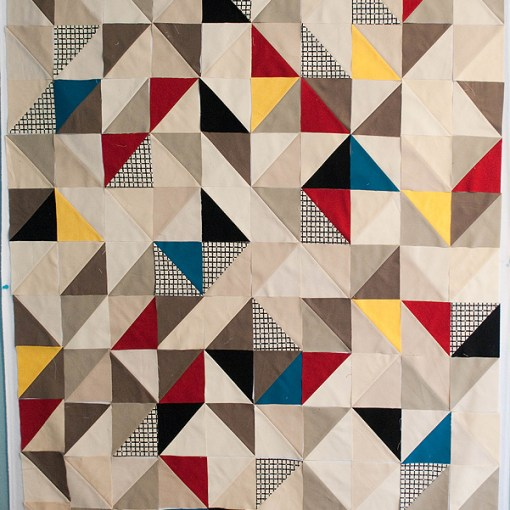 Quilt layout