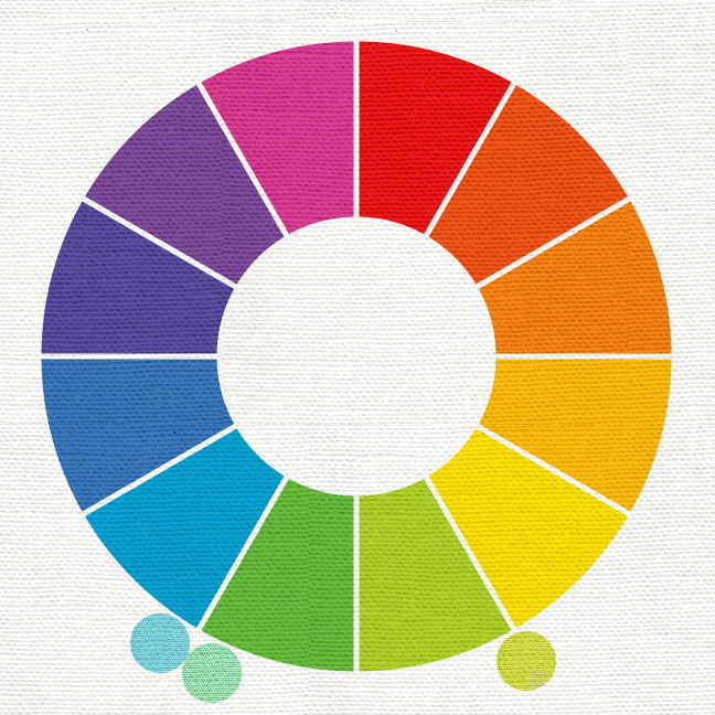 For Analogous Colors We Look At The Next To It On Color Wheel They Dont Have Be Same Distance Apart As You Can See In This Pairing Of