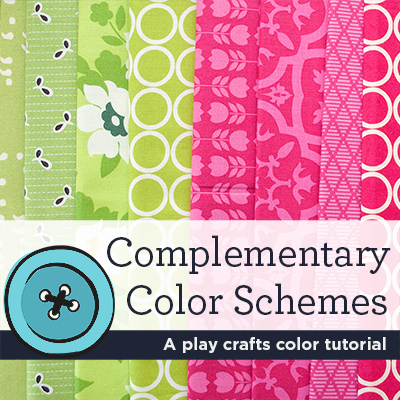 Color Chat Complementary Colors Play Crafts