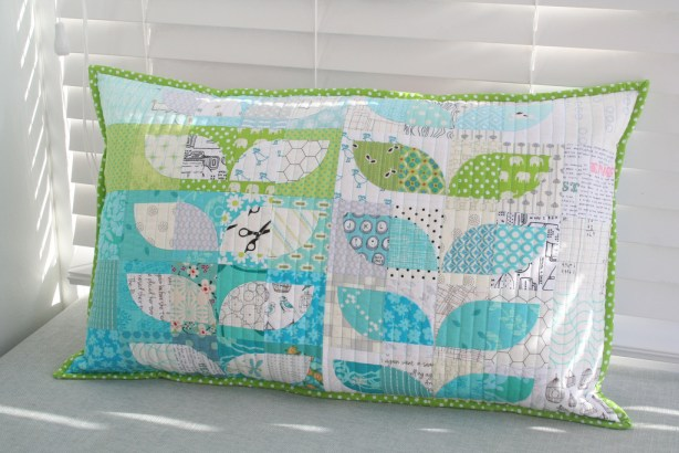 Scrappy Spring Sprouts Pillow
