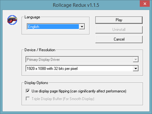 rollcage-redux-settings