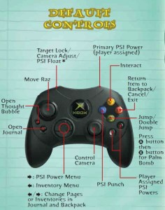 psychonauts-original-controls