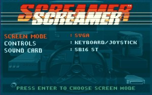 screamer-setup