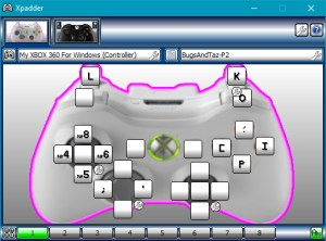 Player 2's controls