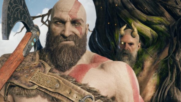 God, it Was to see Normally, Baldur, the God of war, it shows the finger after the first boss fight