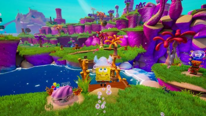 SpongeBob SquarePants the Battle of Bikini bottoms Rehydrated: New Gameplay Video of the PAX East 2020