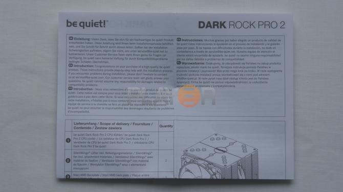 Be Quiet Dark Rock Pro 2 Accessories 5