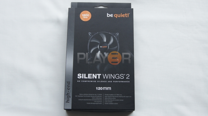 Be Quiet Silent Wings 2 120mm Box Front