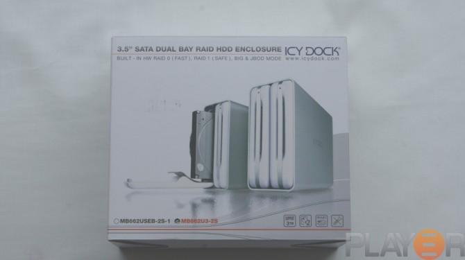 Icy Dock MB662U3-2S Box Front