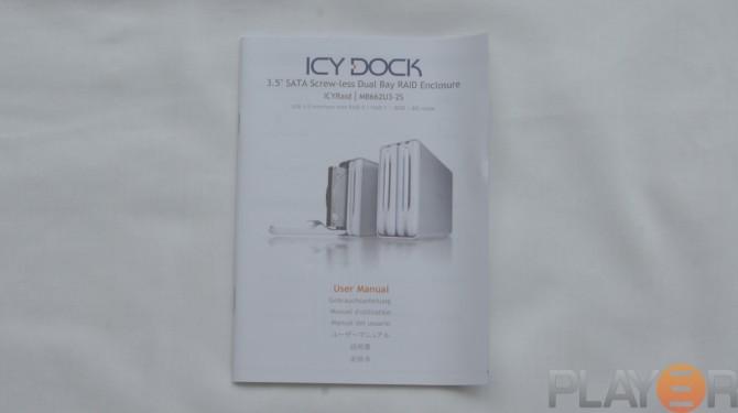 Icy Dock MB662U3-2S Users Manual