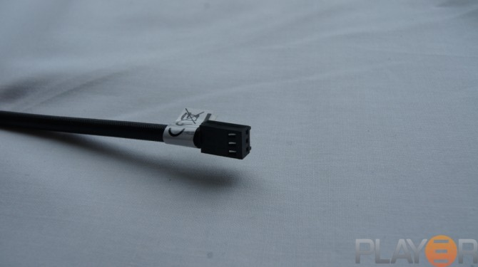 Thermaltake Chaser A31 Black 3 Pin Fan Connector