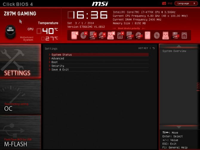 MSI Z87M Gaming Review | Page 5 of 16 | Play3r