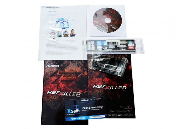 ASRock Fatal1ty H97 Killer pack accessories2