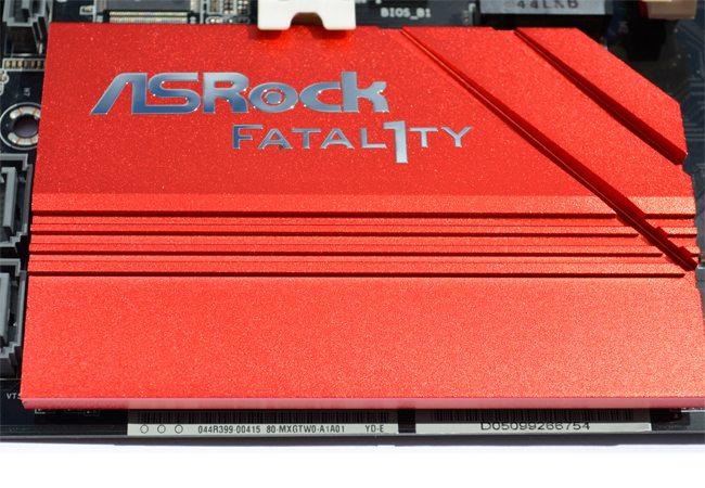 ASRock Fatal1ty Z97 Killer Closer Heatsink 1