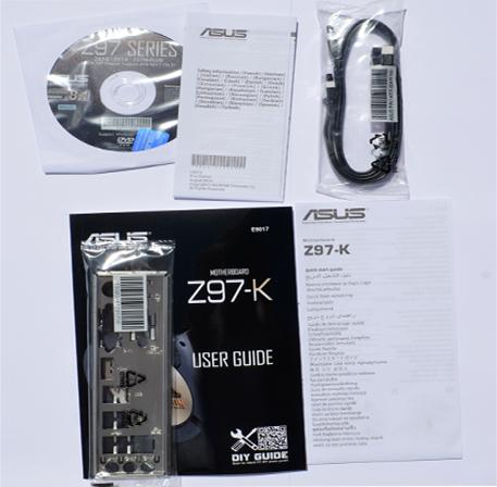ASUS Z97-K Pack acc