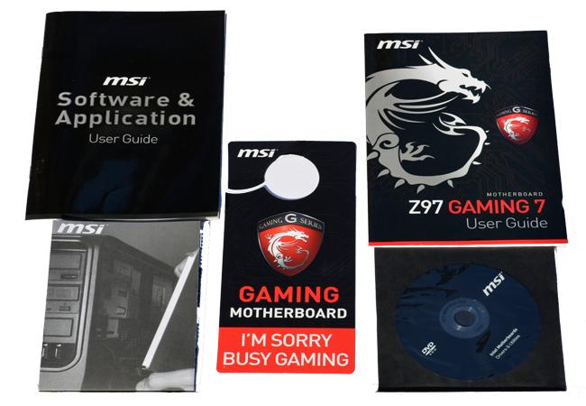 MSI Z97 GAMING 7 Manuals