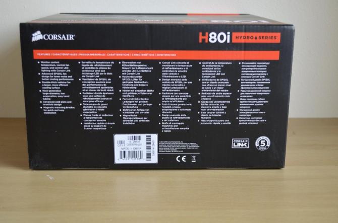 Corsair H80i 5