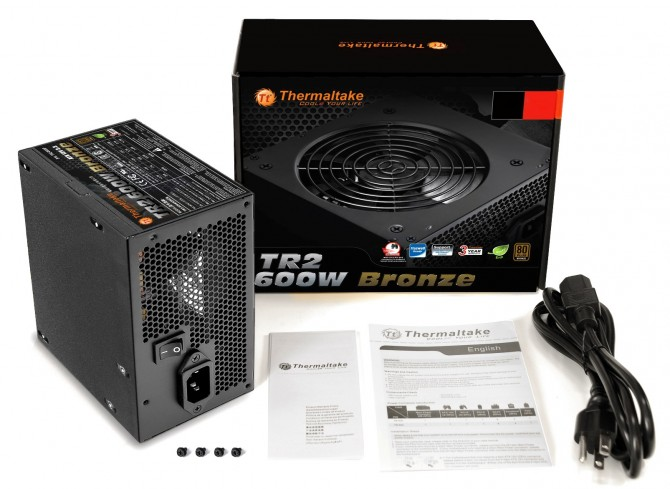 Thermaltake TR2 Bronze Series incorporate various high-quality components, enabling non-stop usage with stable and reliable performance