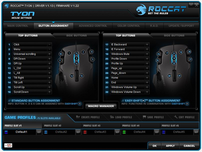 ROCCAT Tyon Gaming Mouse Review | Page 5 of 8 | Play3r