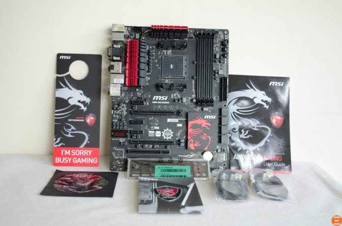 MSI A88X-G45 Gaming Motherboard_2