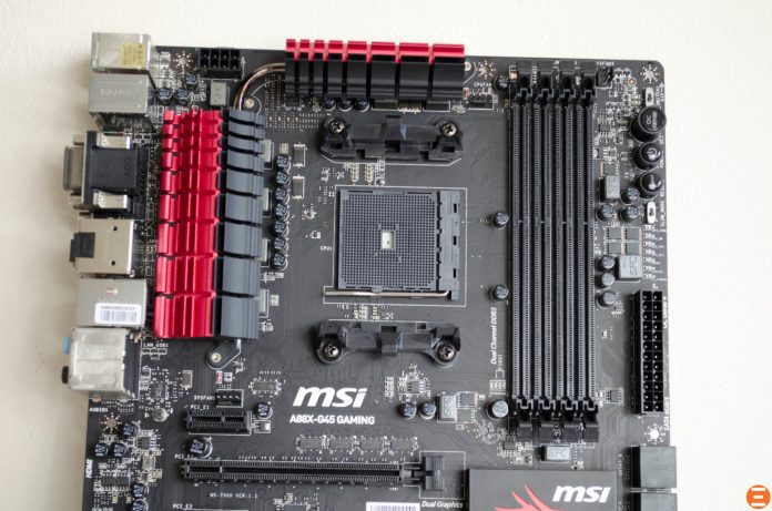 MSI A88X-G45 Gaming Motherboard_5