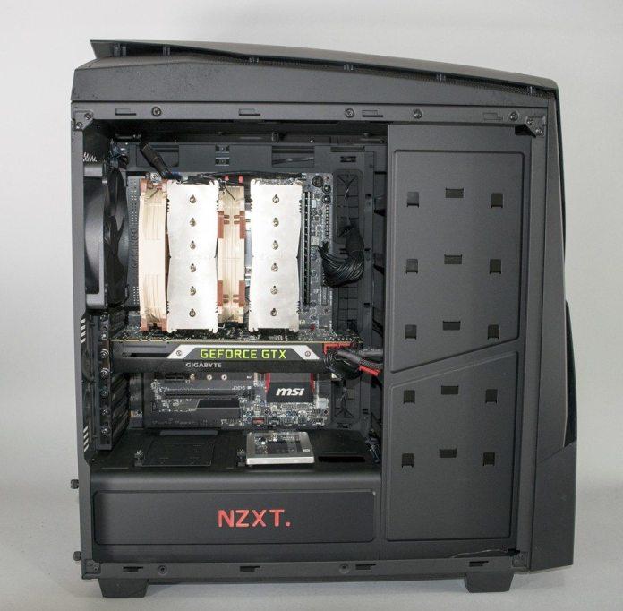 NZXT Noctis 450 Build 1