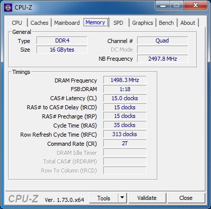 Fury 3000MHz CL15