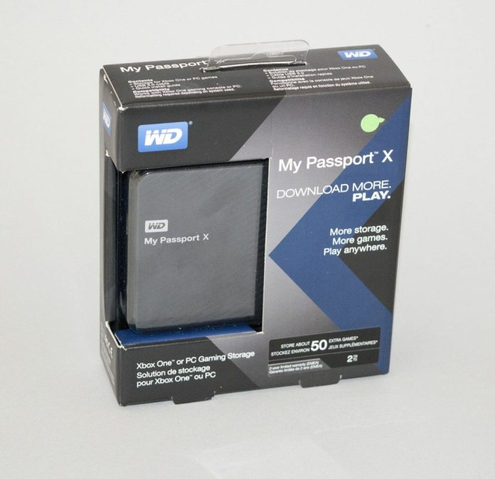 WD My Passport X 2TB 1