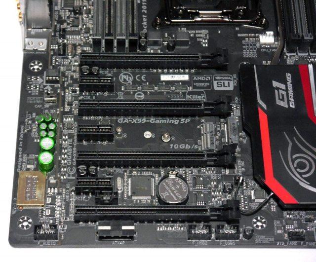 GIGABYTE X99 Gaming 5P - PCI-E