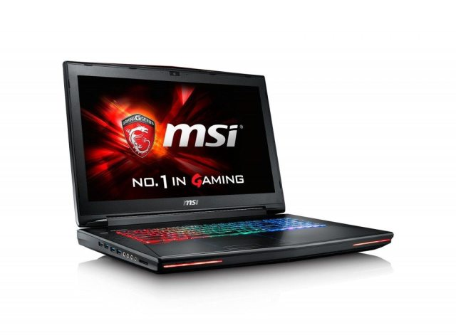 Image of the MSI GT72S Dominator laptop