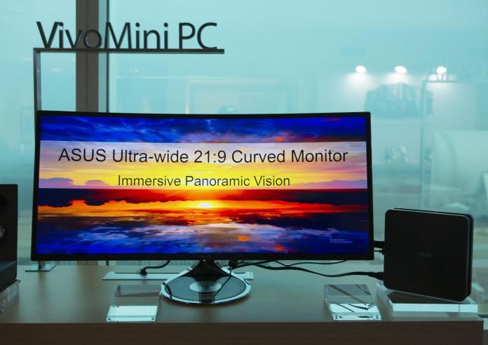 ASUS Designo MX Series 34-inch curved monitor
