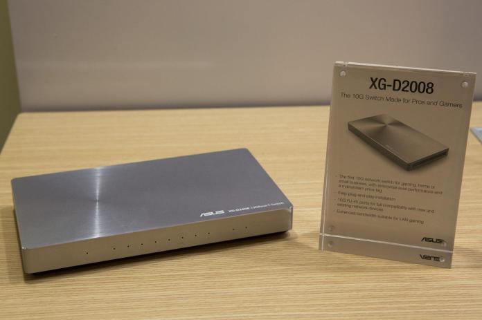 ASUS XG-D2008 10-Gigabit switch