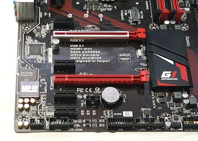 GIGABYTE Z170-Gaming K3 - PCI-E