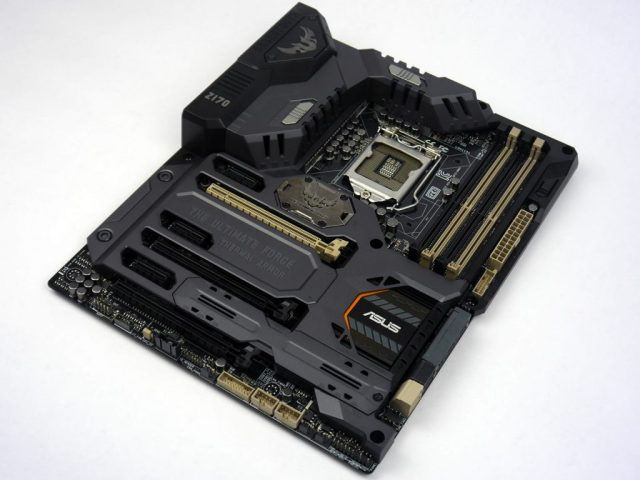 ASUS Sabertooth Z170 Mark 1 - Overview Pic