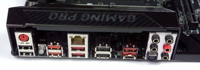MSI X99 Gaming Pro Carbon - IO