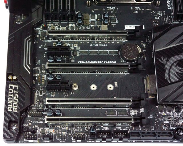 MSI X99 Gaming Pro Carbon - PCI-E