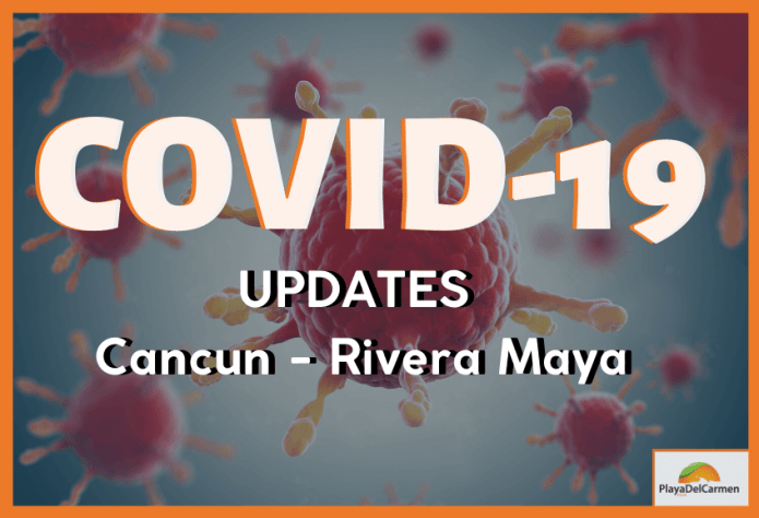 covid 19 playa del carmen , riviera maya, cancun