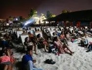 Riviera Maya Film Festival beach showing