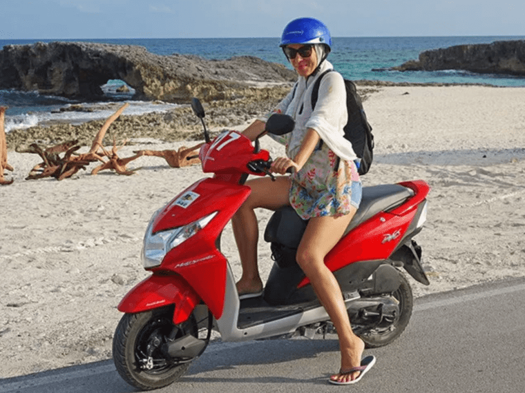Renting A Scooter Or Car For A Day In Cozumel